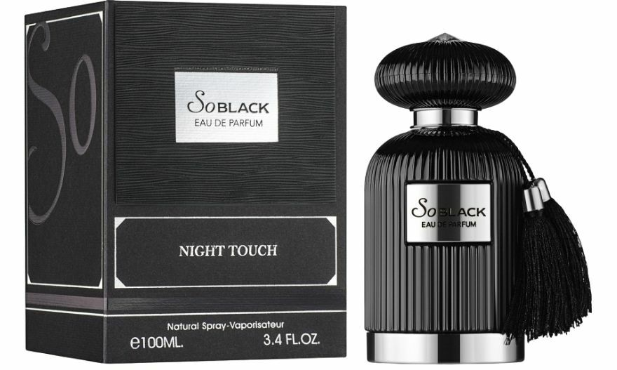 So Black Night Touch by Fragrance World - Arabian, Western and Middle East Perfumes - Muskat Gift Shop Kenya