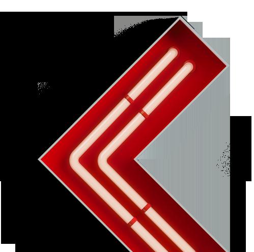 Световой объемный знак