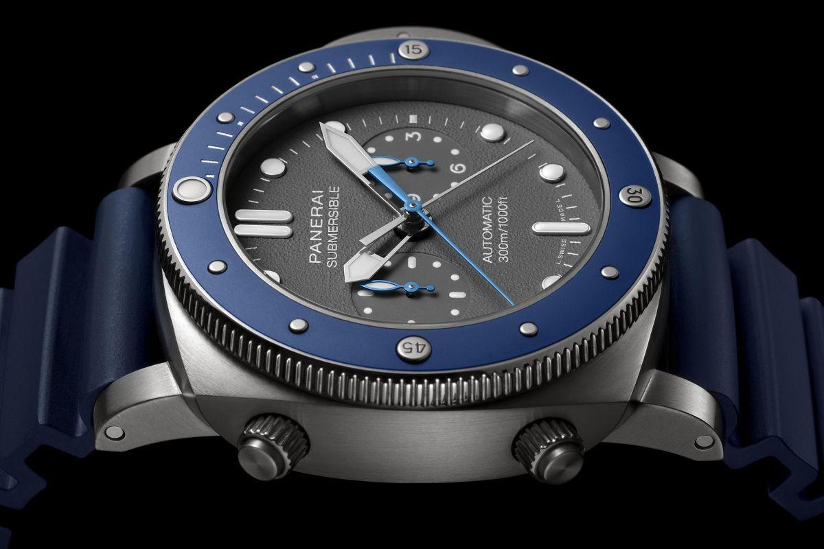 Panerai Submersible Chrono Guillaume Néry Edition - Продать часы Panerai