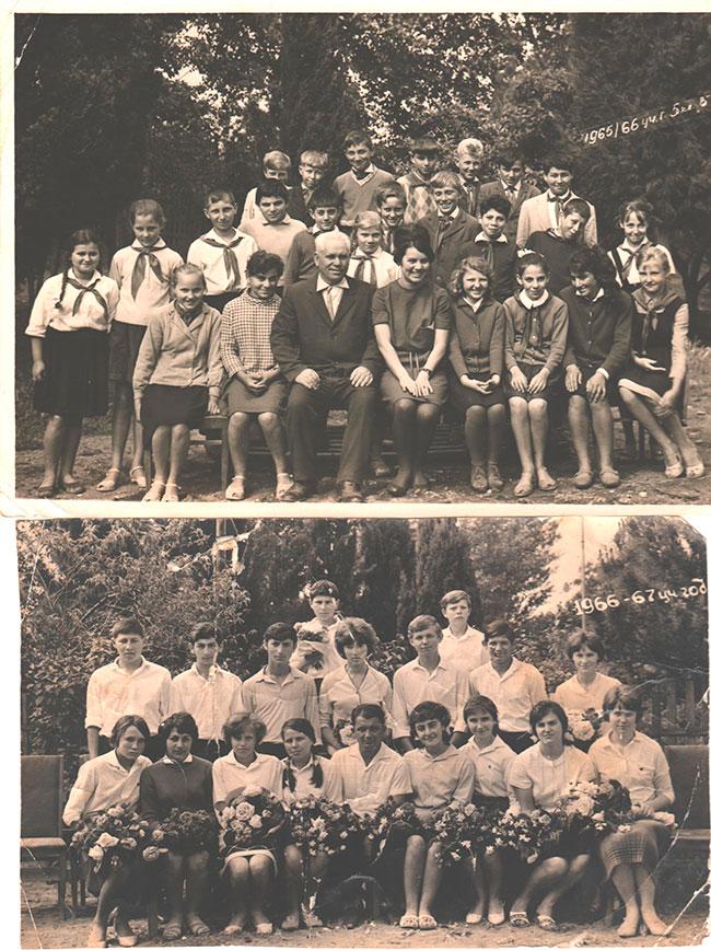 Выпускники 60-х годов