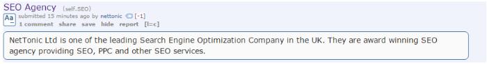 Keine offene Werbung auf Reddit