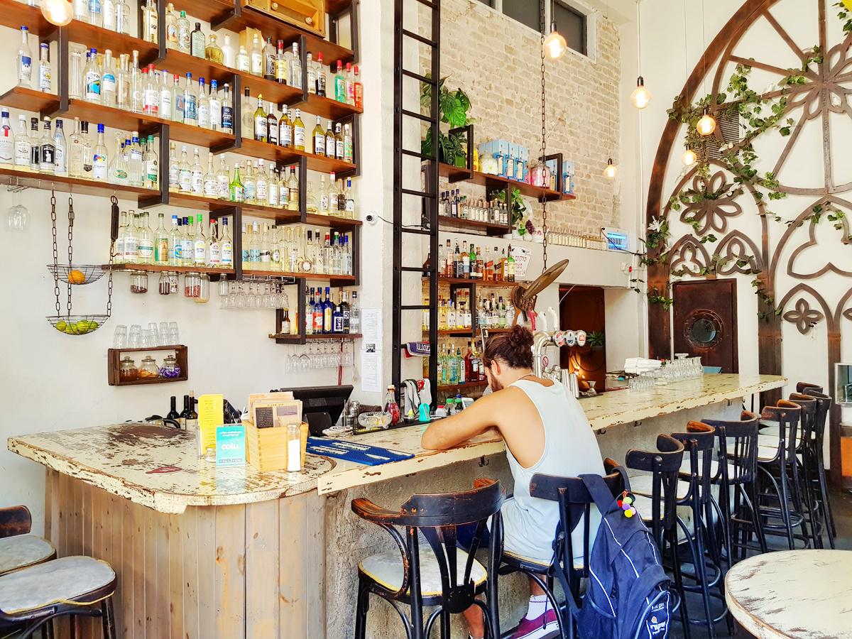 Пимпинелла - бар в Тель-Авиве. Анисовая водка. Вкусный Израиль.
