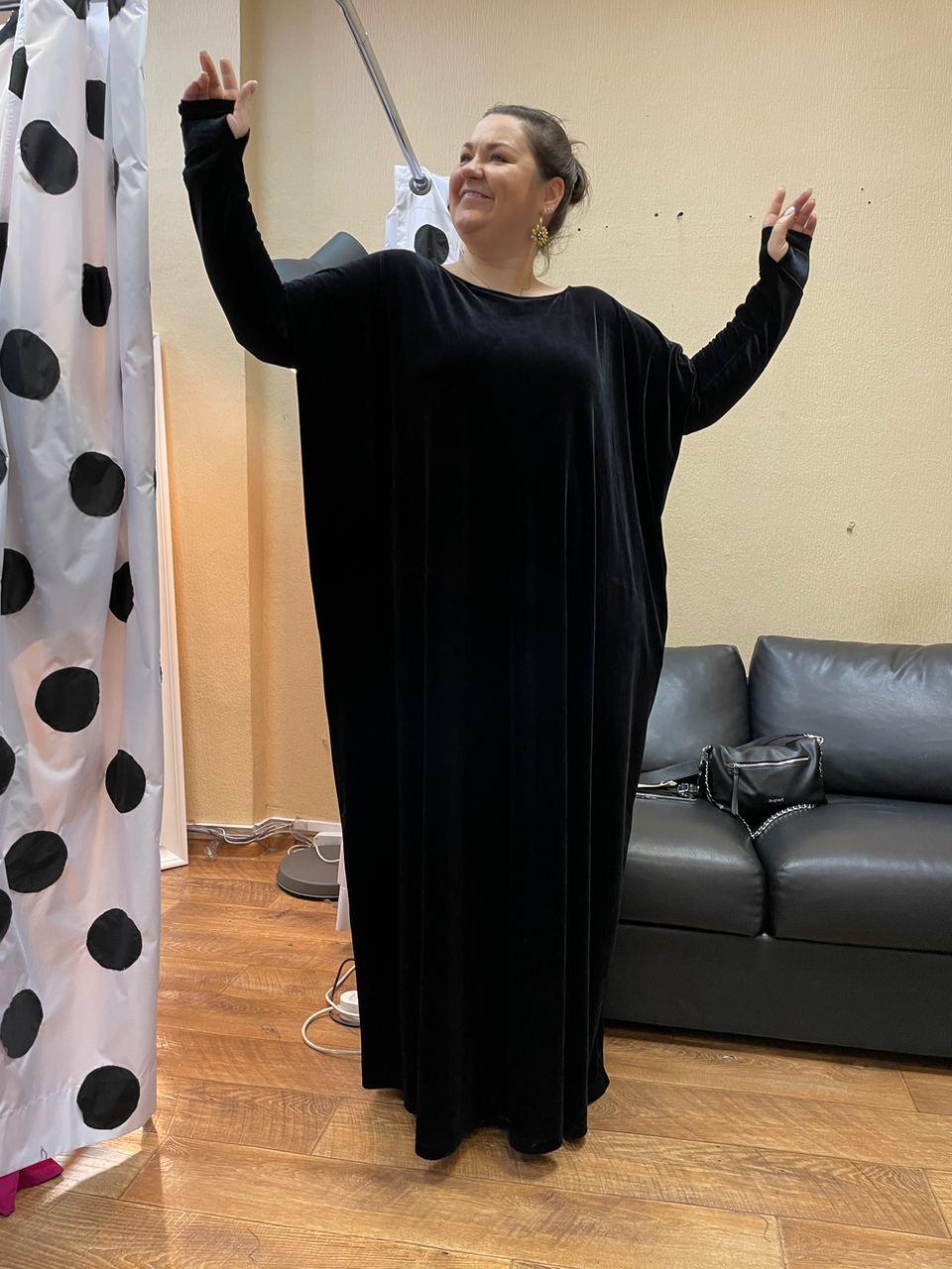 Платье для похода в театр большого размера