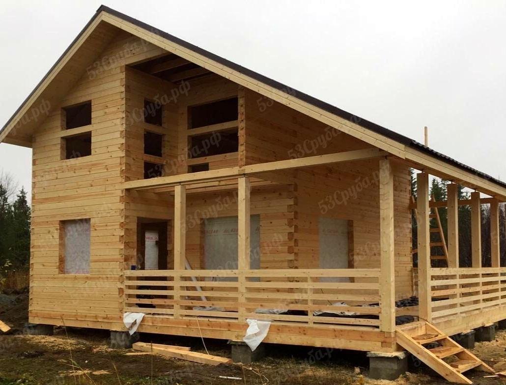 Преимущества домов и бань из бруса