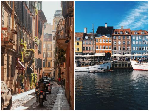 Милан и Копенгаген в декабре