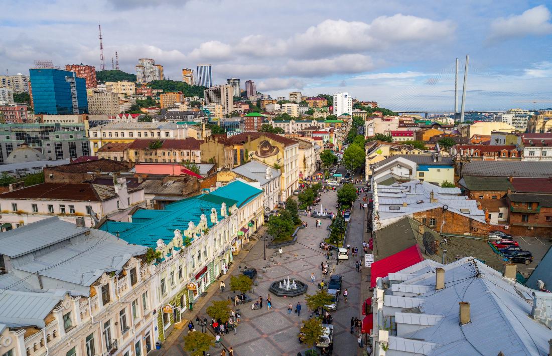 Фотографии улиц владивостока