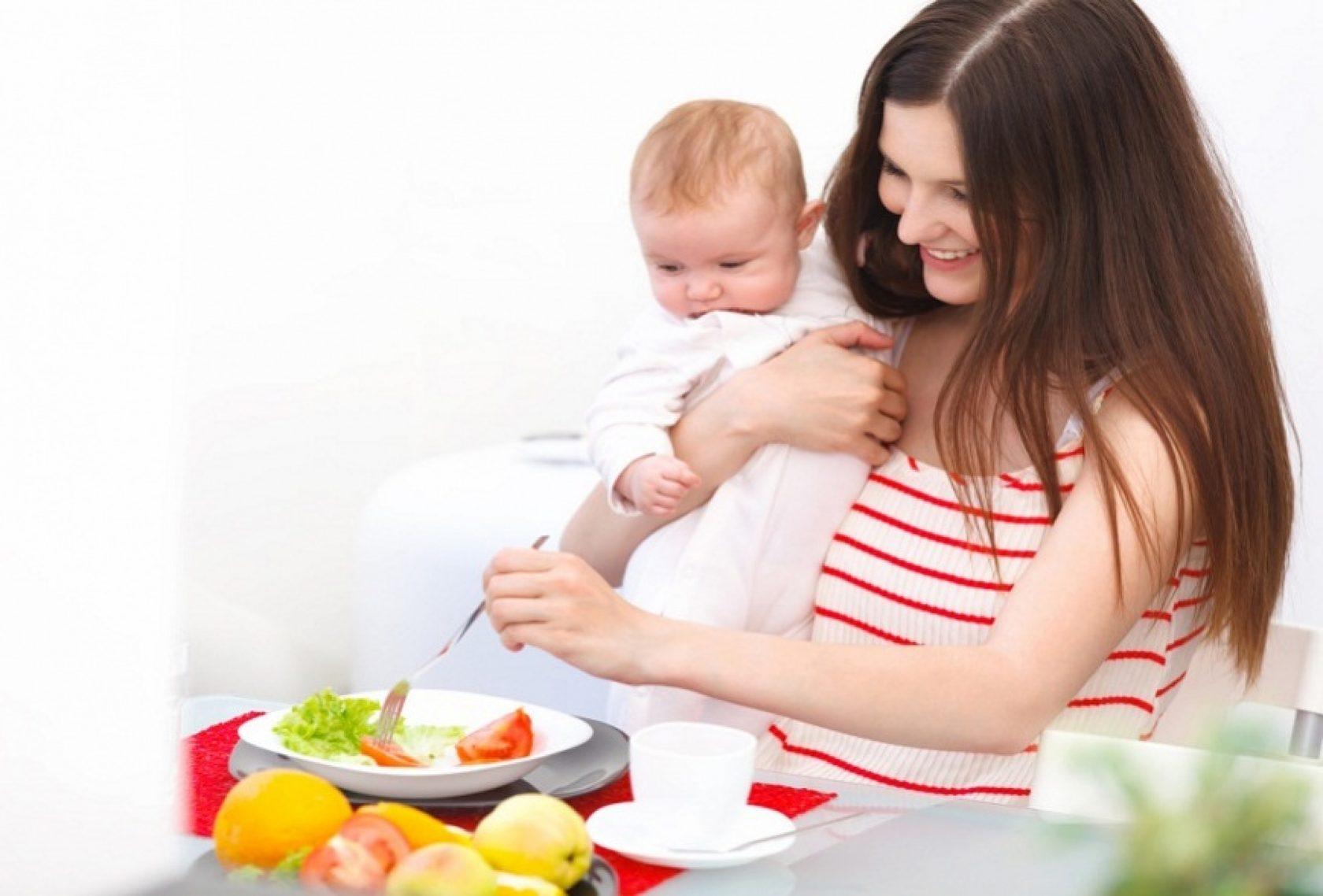 Диета похудения для кормящей