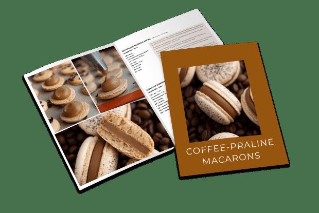 Coffee-Praline macarons recipe