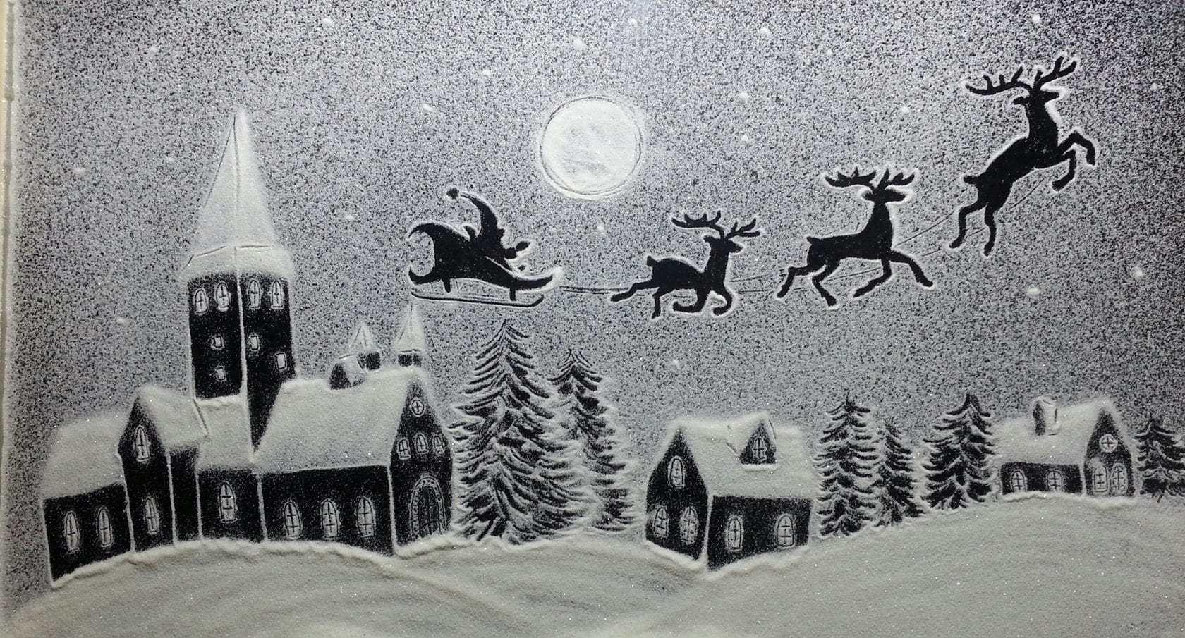 снежная анимация