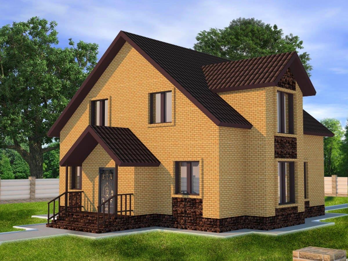 поздравления двухэтажный дом проект план фото мансардного типа попасть