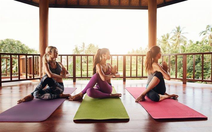 Йога в дневное время для начинающих