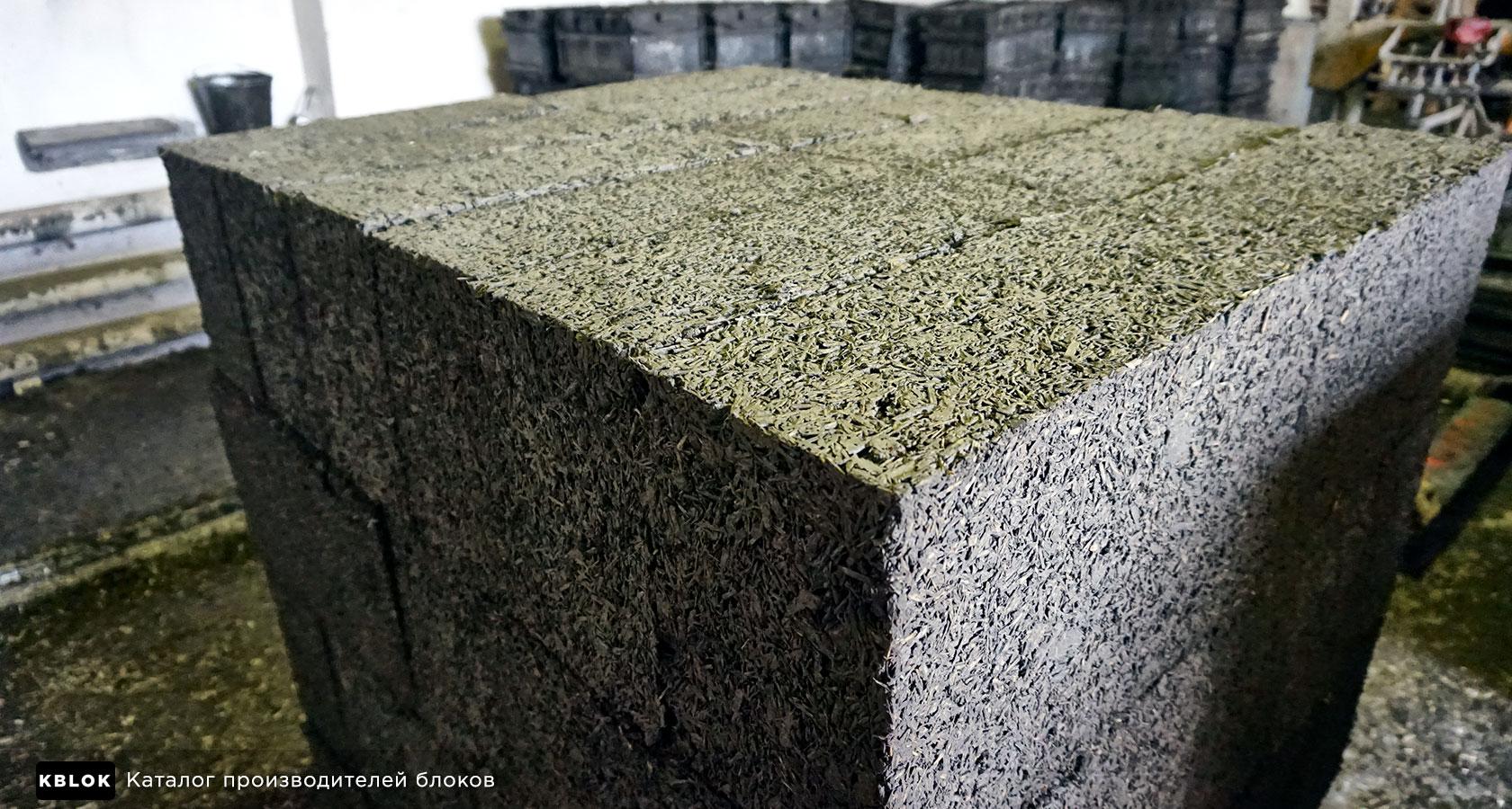 ровная верхняя часть блоков