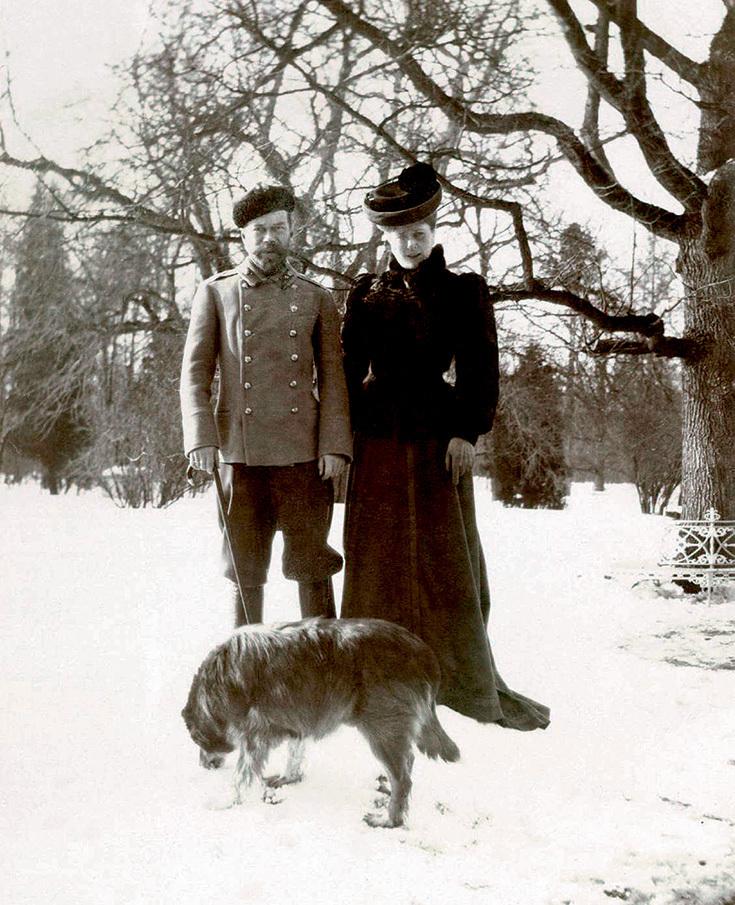 Николай II, Александра и пес Ворон