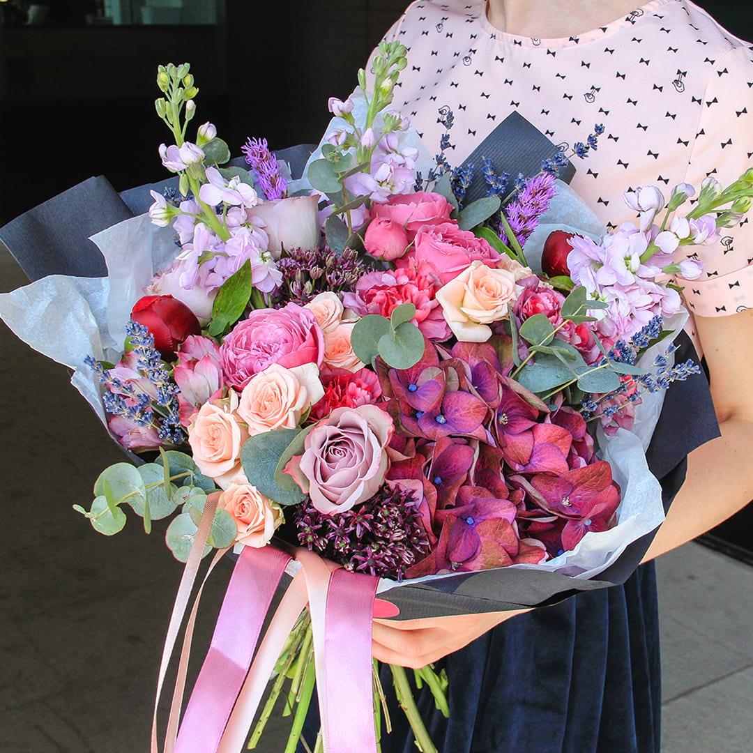 Доставка цветов ект