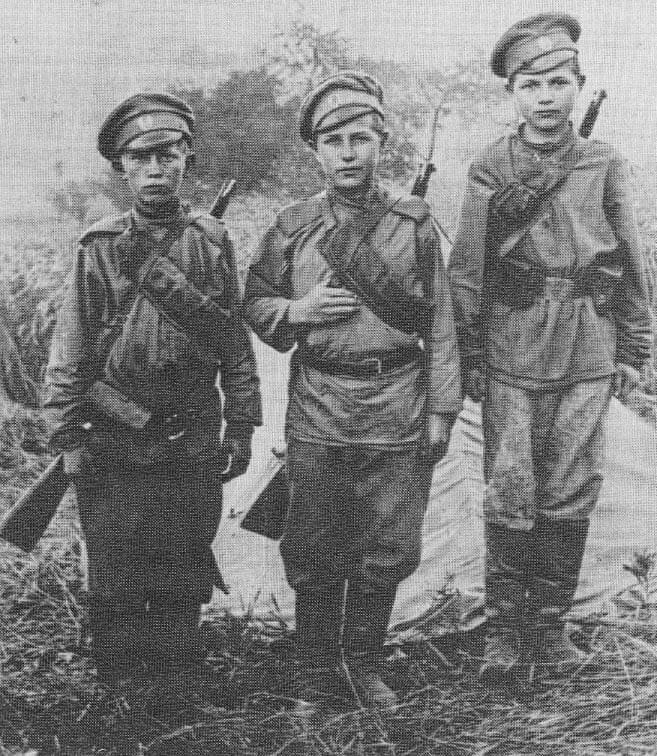 Студенты на фронте Первой Мировой войны