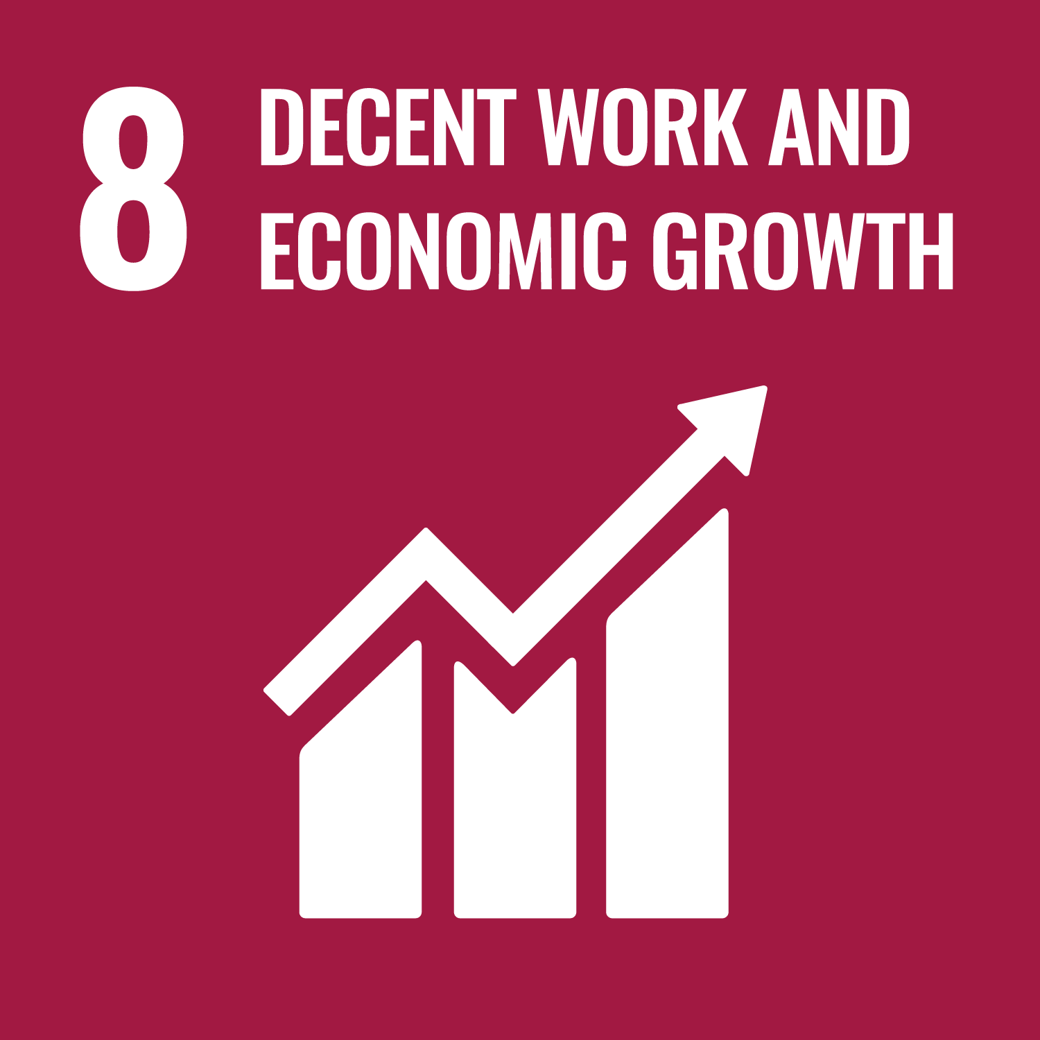 8. Decent work and economic growth We believe that sustainable, inclusive economic growth is the driver for progress. By creating decent jobs we can improve living standards which enable us to develop new innovative and sustainable houses. How we target this SDG? By creating decent jobs we can improve living standards which enable us to develop new innovative and sustainable houses that can be deployed more quickly, adaptably and intelligently than traditional construction, contributing to a sustainably-driven global construction sector.