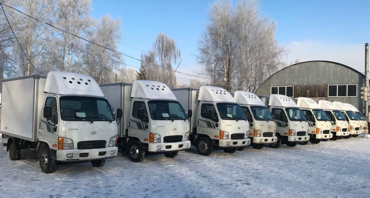 По данным автопроизводителя, клиентская компания планирует использовать малотоннажные автомобили Hyundai HD35 City для перевозки пищевой продукции (фото: Hyundai Truck and Bus Rus)
