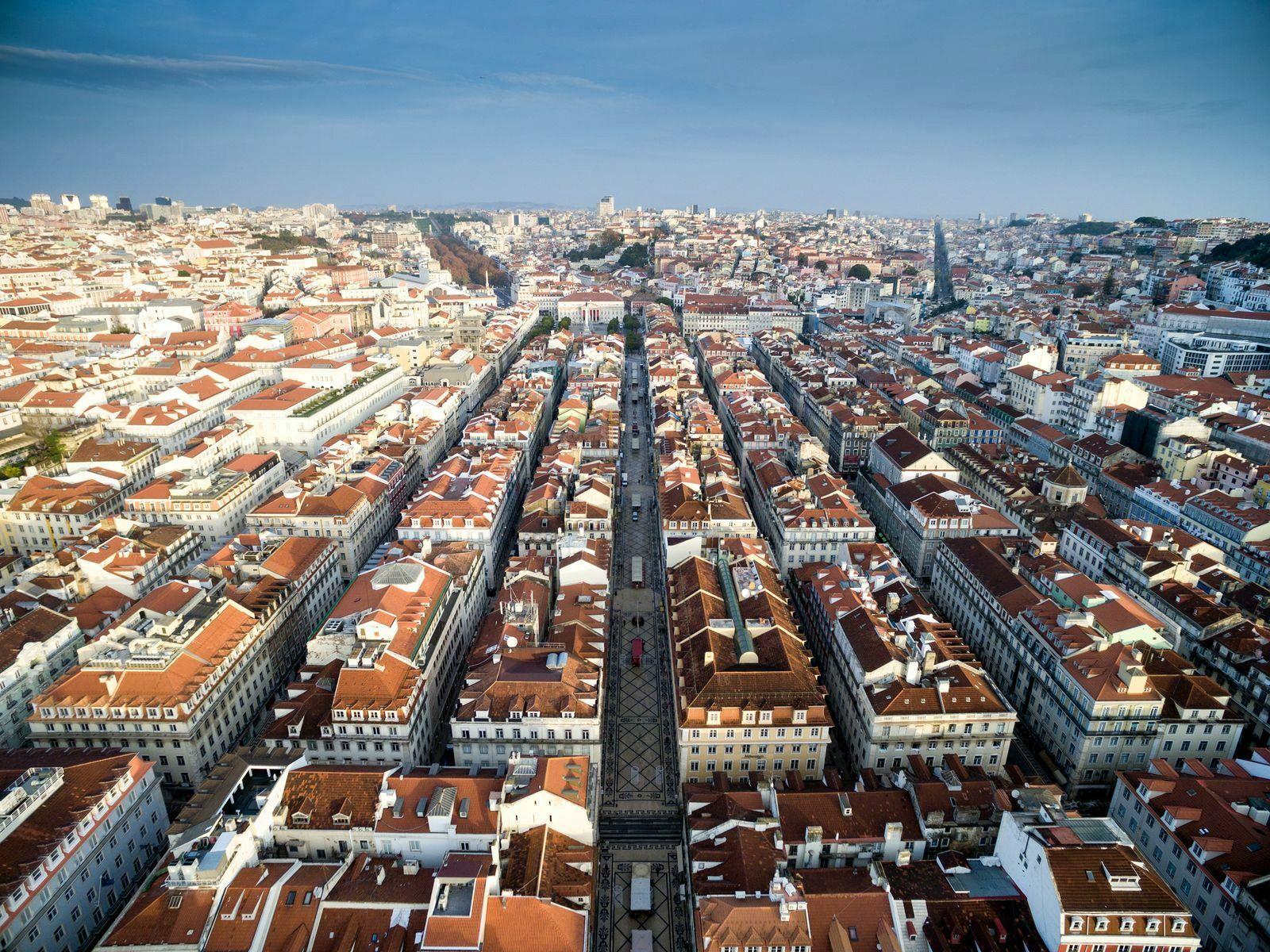 Baixa Лиссабон