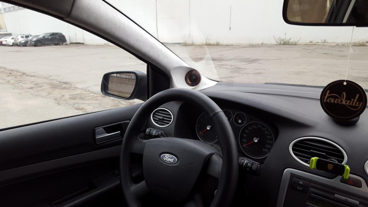 стойки установка твитеров в ford focus 2