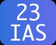 23 IAS