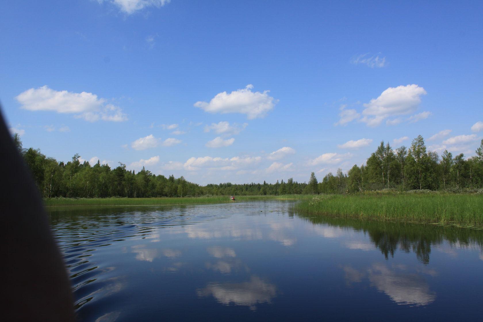 фото реки черной карелия связи