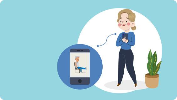 Упражнения в приложении клиента