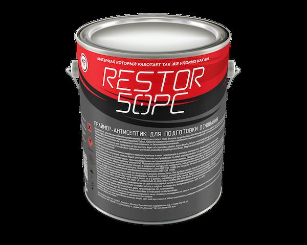 RESTOR 50PC Праймер для подготовки биопораженного основания