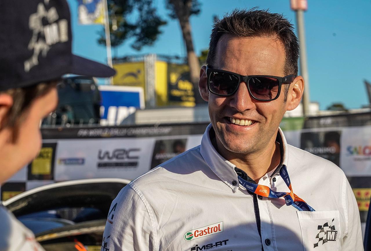 Руководитель M-Sport Ford WRT Ричард Милленер, ралли Каталония 2019