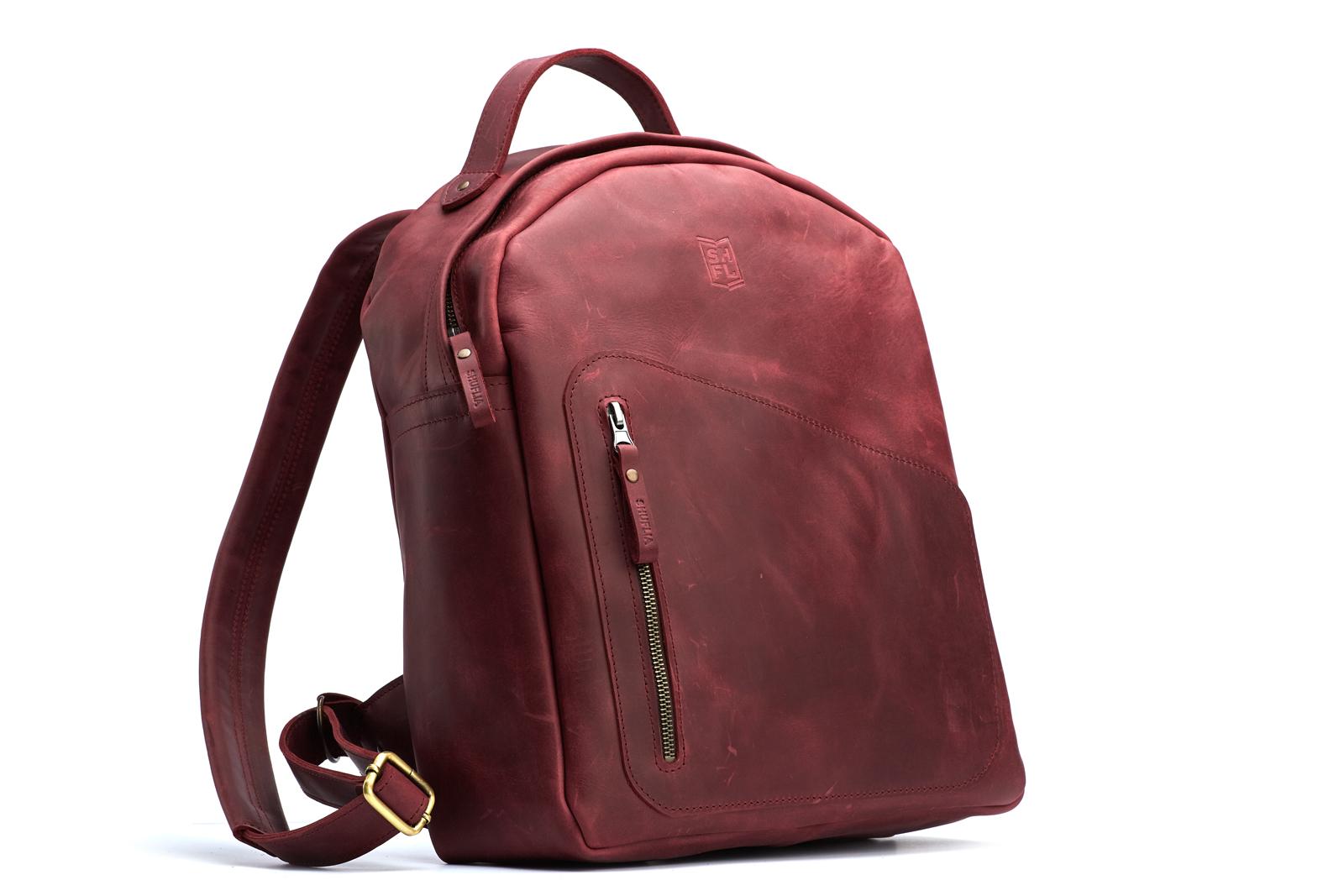 Шкіряний рюкзак SLASH | Shuflia