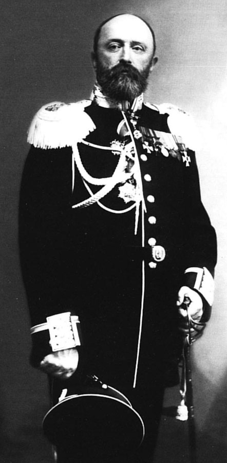 капитан 1-го ранга Всеволод Руднев