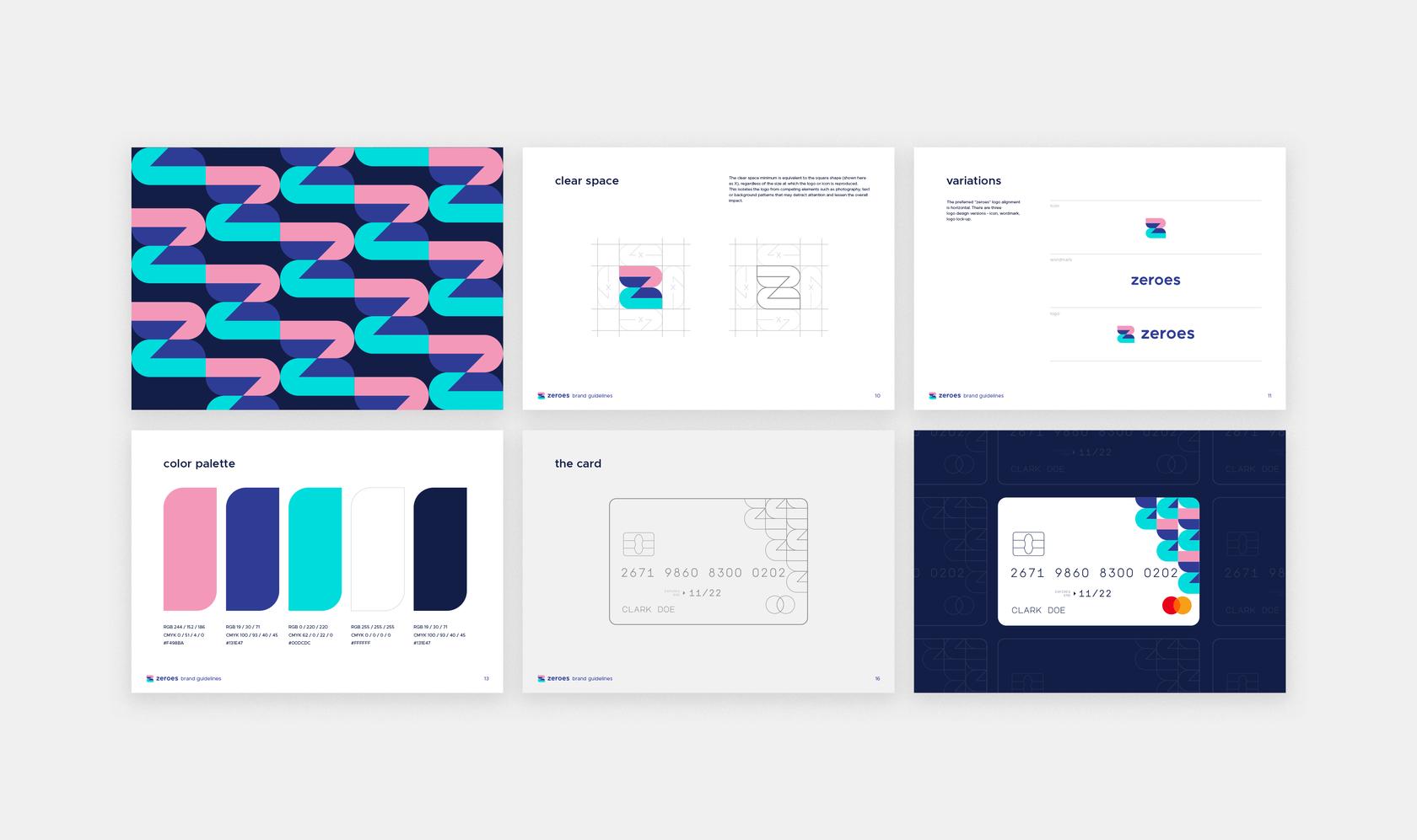 Fintech brandbook