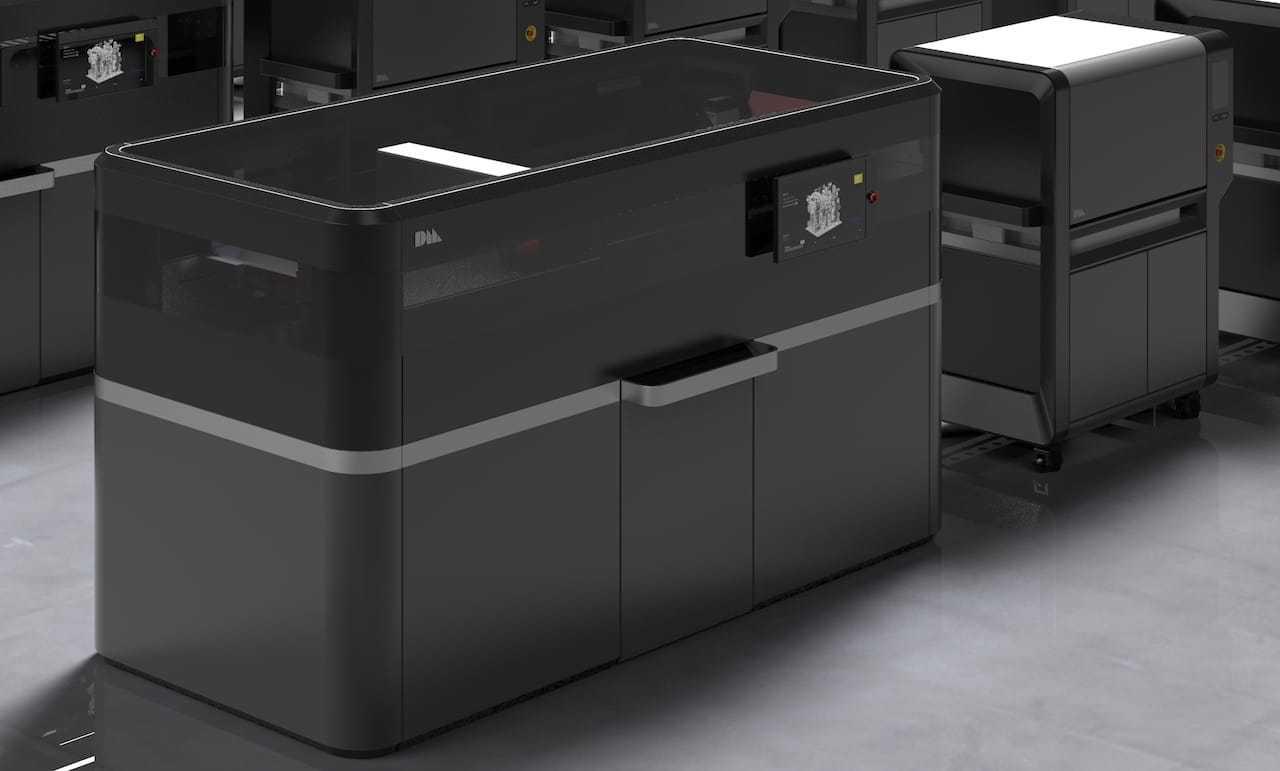 Принтер для 3D-печати металлами Additive Solutions. Корпус разработан в Формлабе