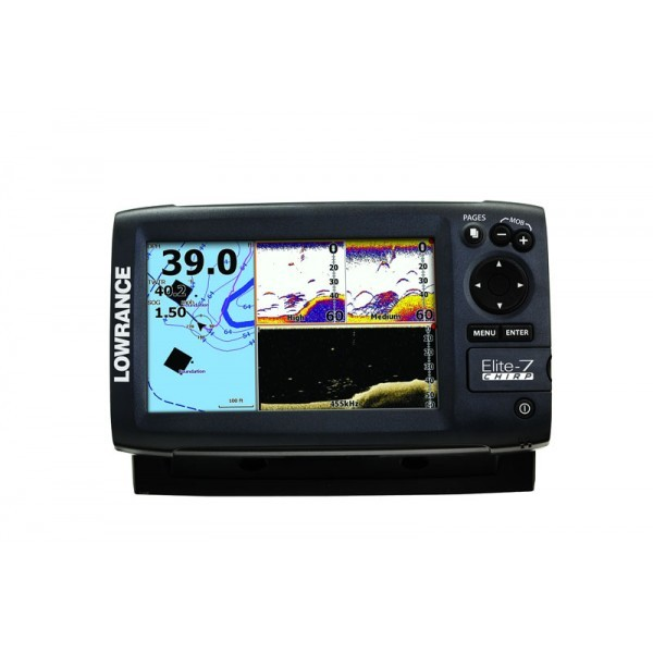 Купить морской навигатор Lowrance Elite - цена, продажа, каталог.