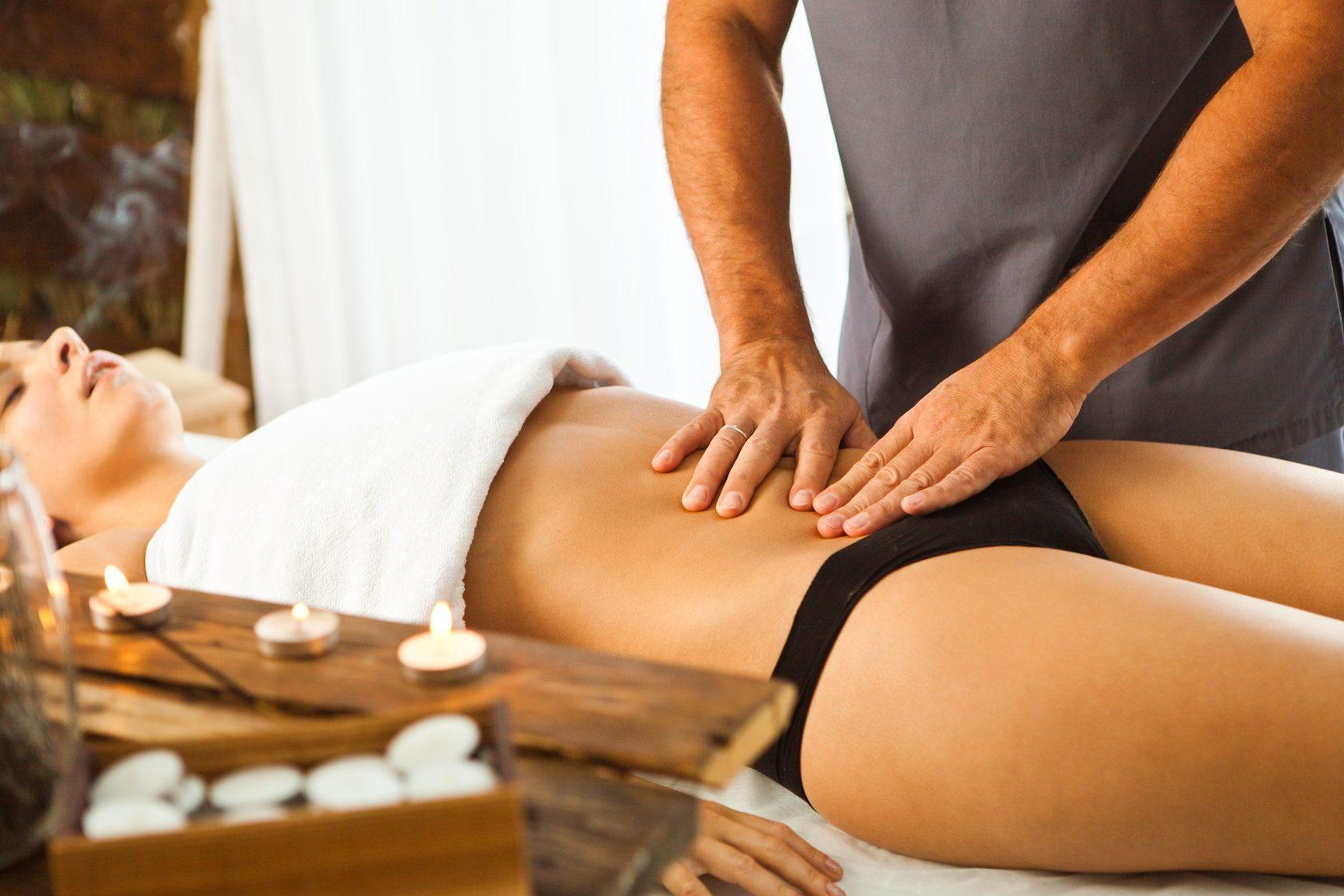 Видео массаж для похудения