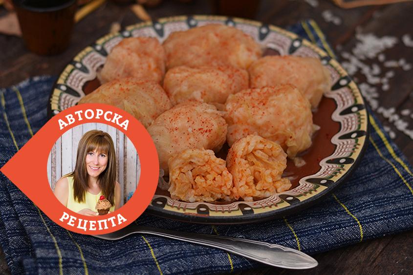 Сармите на баба Райна (по стара строевска рецепта) с ориз Ризон Krina