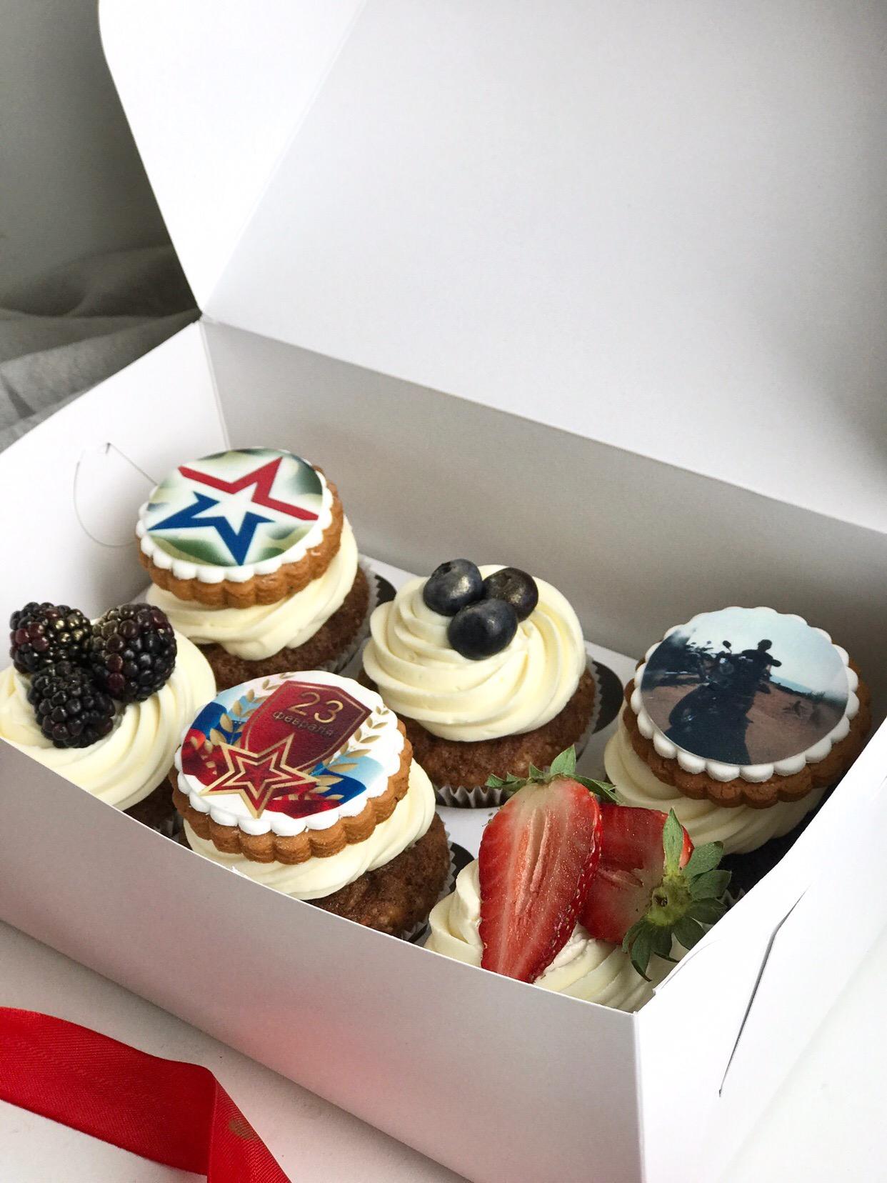 пирожное с фотографией на заказ одинцово береговой