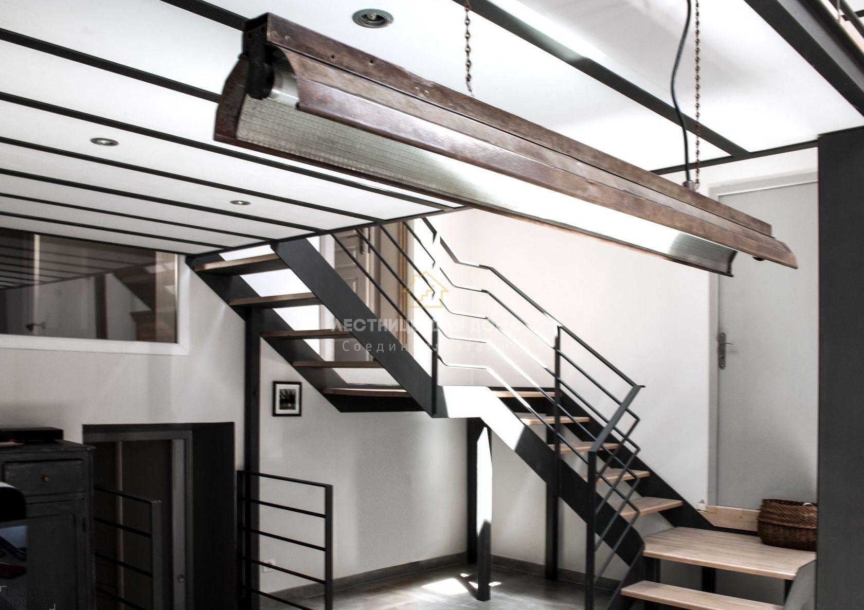 Лестницы на второй в частном доме фото себе гений