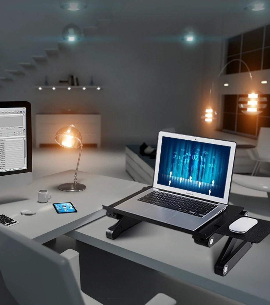 Стол-трансформер для ноутбука Laptop table T9 с доставкой по Беларуси