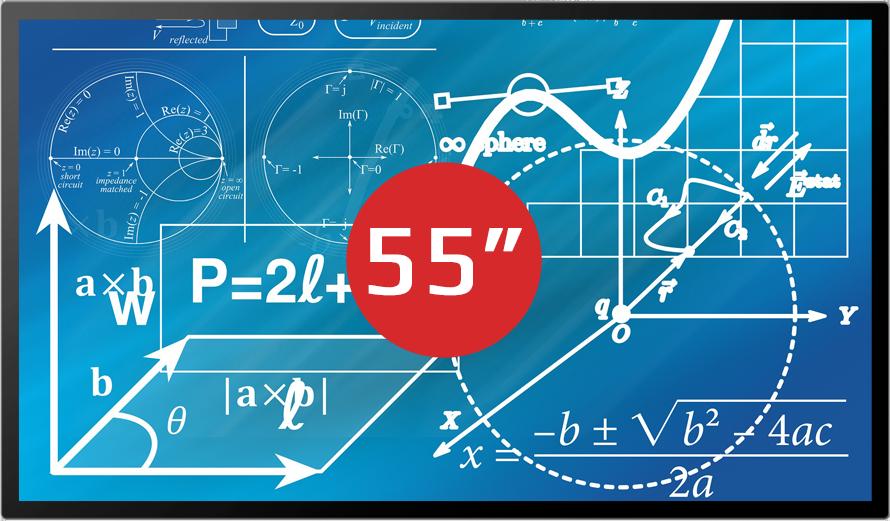 "MULTIBOARD 55"" <span style=""color: rgb(252, 9, 25);"">PREMIUM LINE </span>(UHD) <br />"