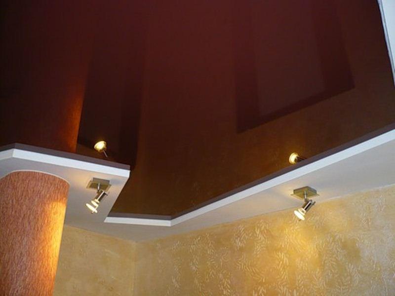картинки коричневый натяжной потолок матчей турниров