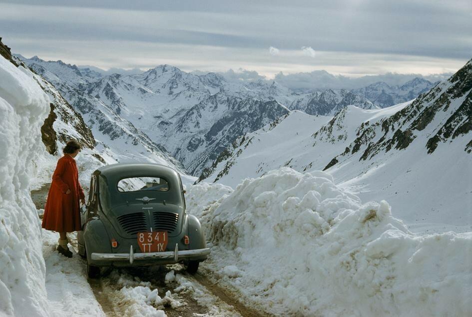 Французские Пиренеи, 1956. Фотограф Джастин Лок