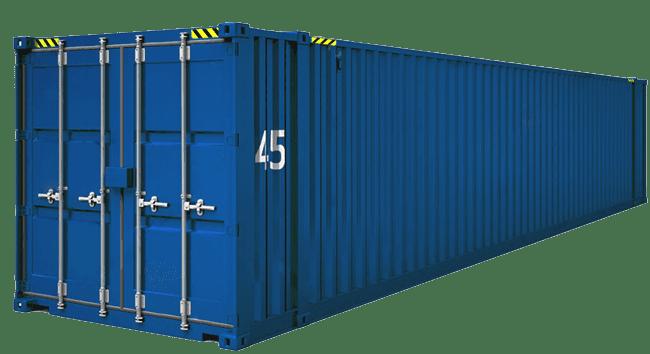 контейнер 45 фунтов широкий PW