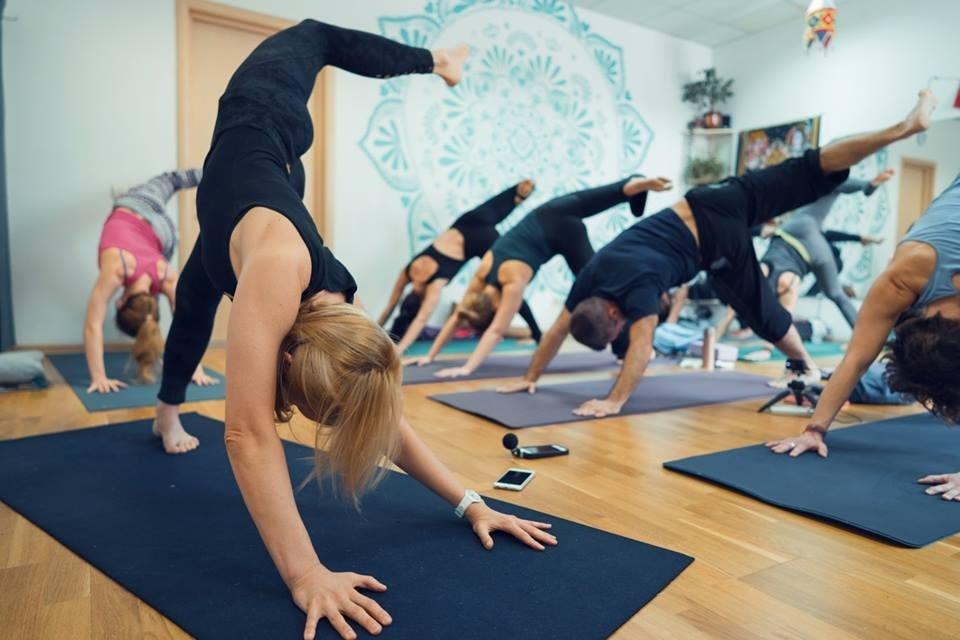 Йога студия с опытными преподавателями