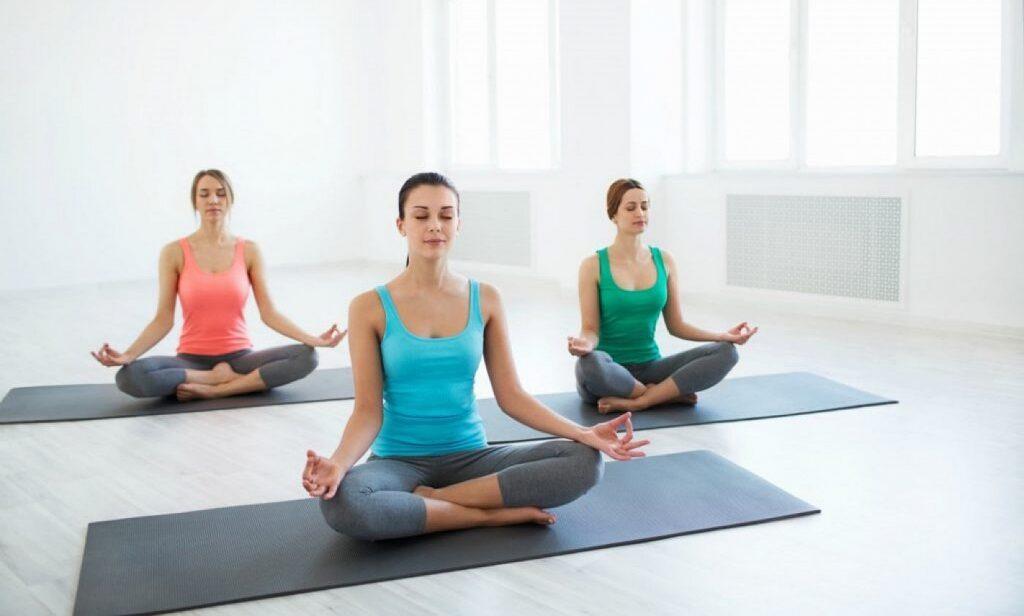 Йога первое занятие