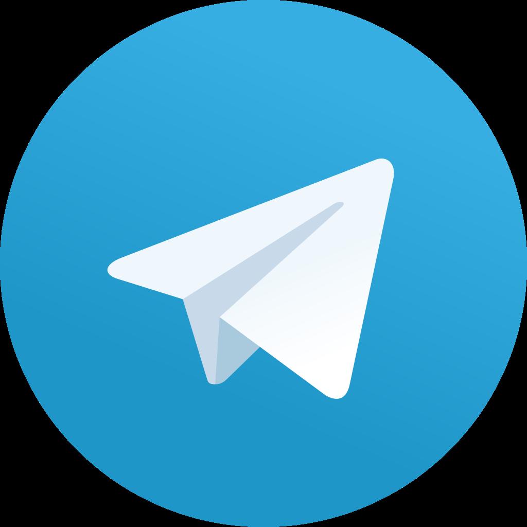 крупный лого telegram