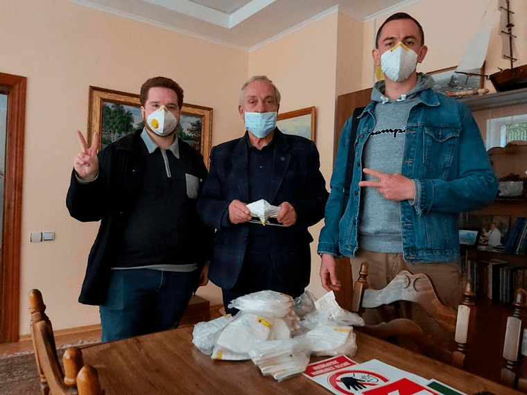 Партия Шария помогла больнице Николаева - фото