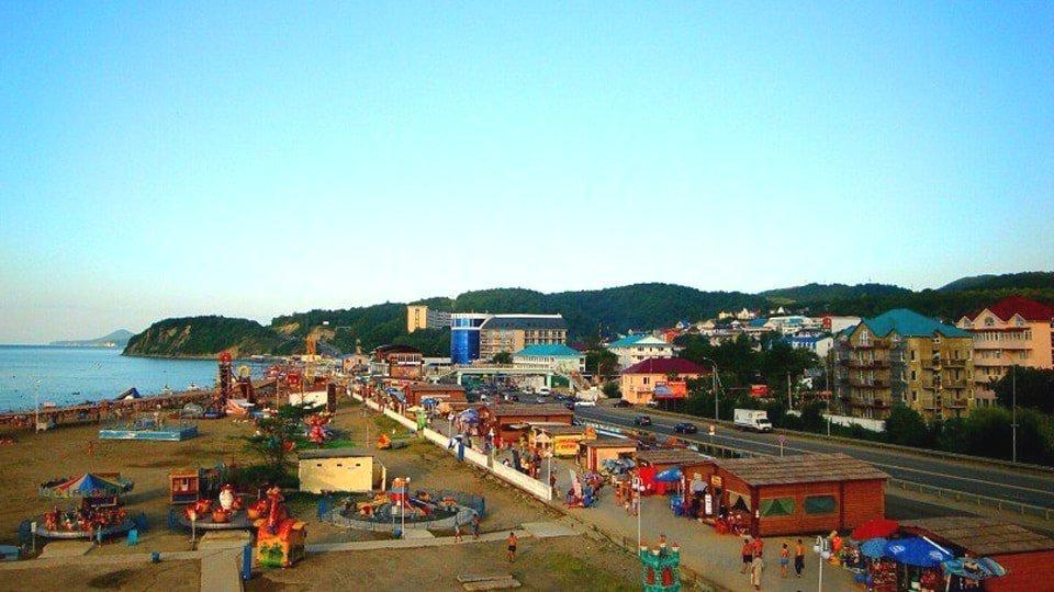 Вид на поселок Лермонтово
