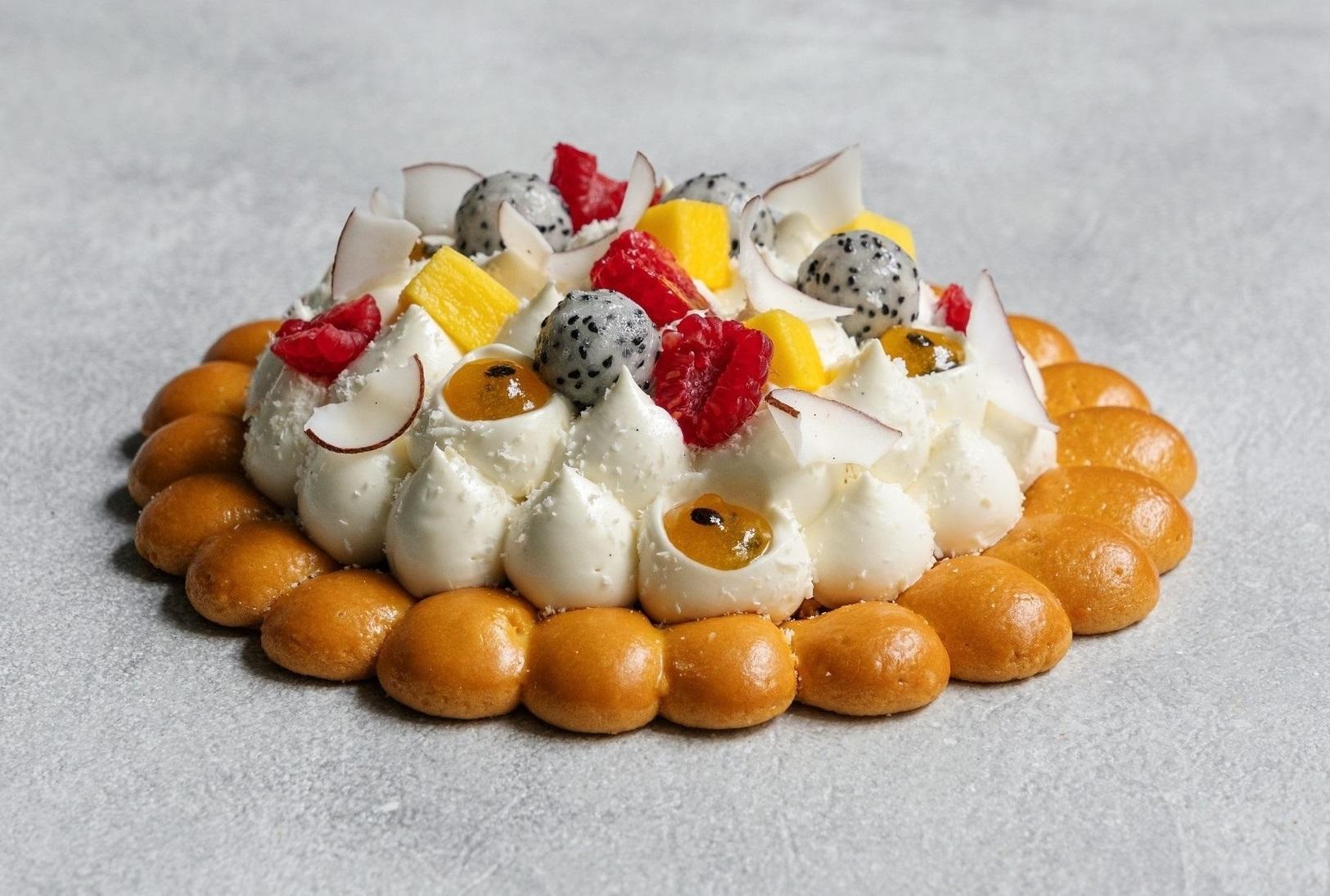 фото экзотический тарт