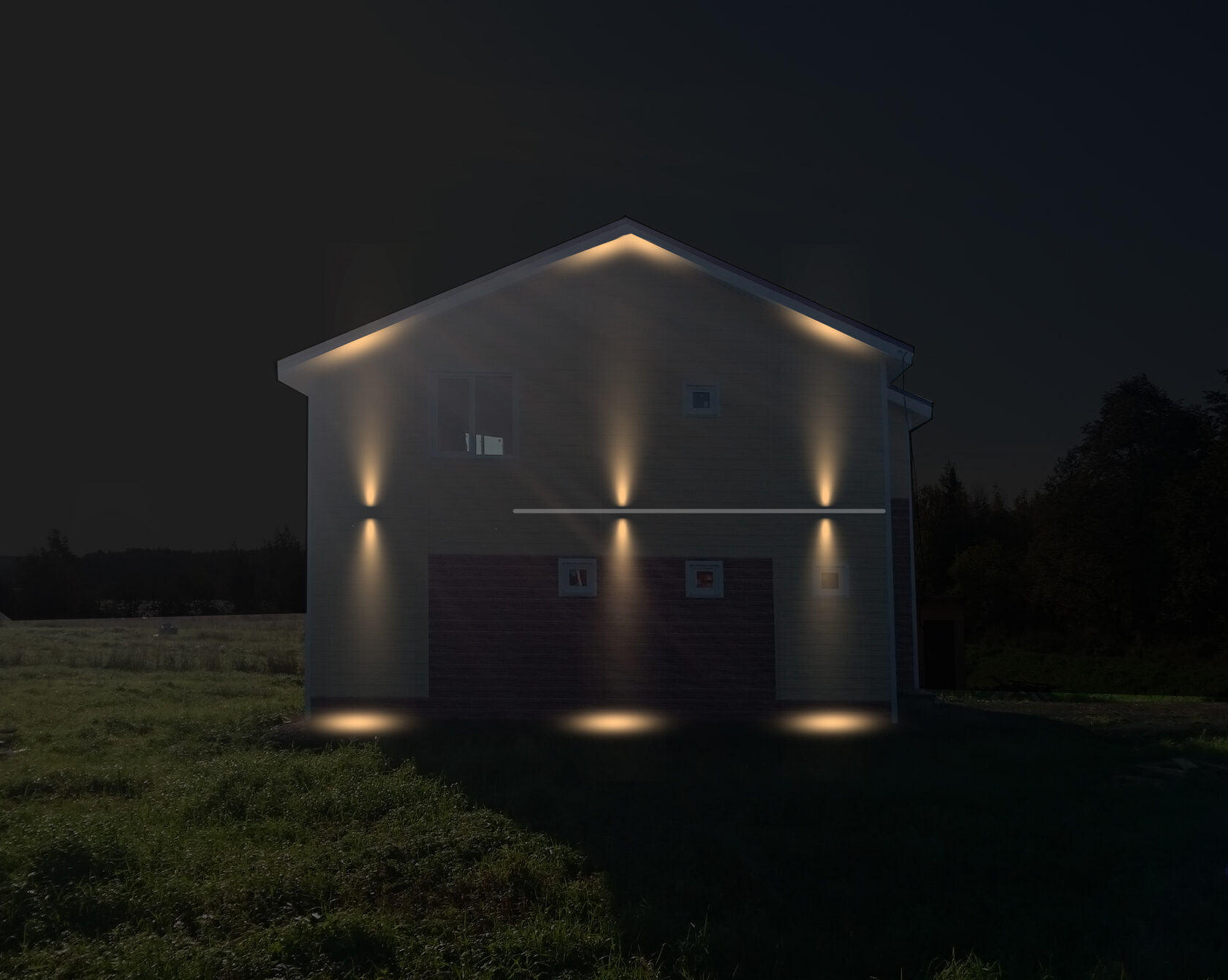 Концепция освещения вид 4