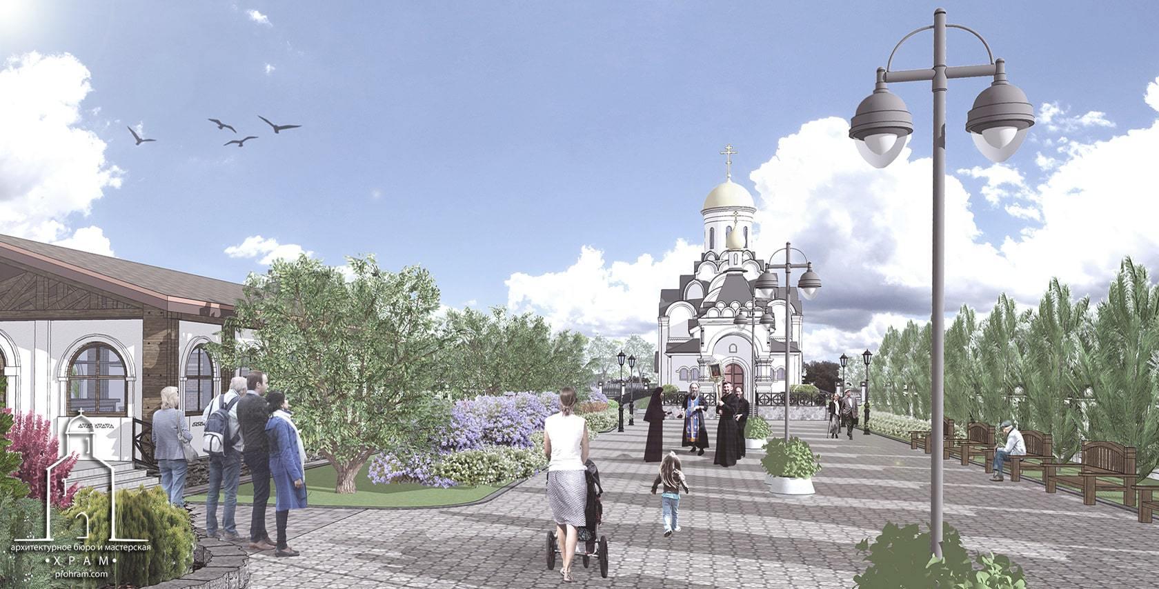 проект восстановления Иверского монастыря в Донецке